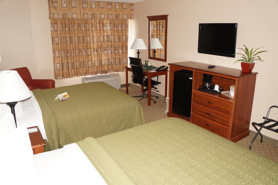 Quality Inn & Suites Near Fairgrounds Ybor City: my room