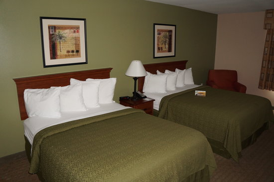 Quality Inn & Suites Near Fairgrounds Ybor City: room