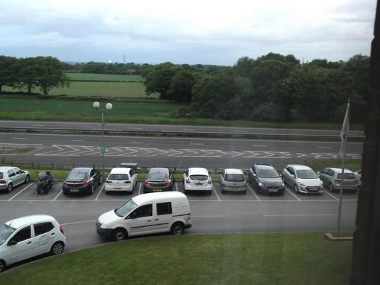 Holiday Inn A55 - Chester (West): View from room looking right to the A55