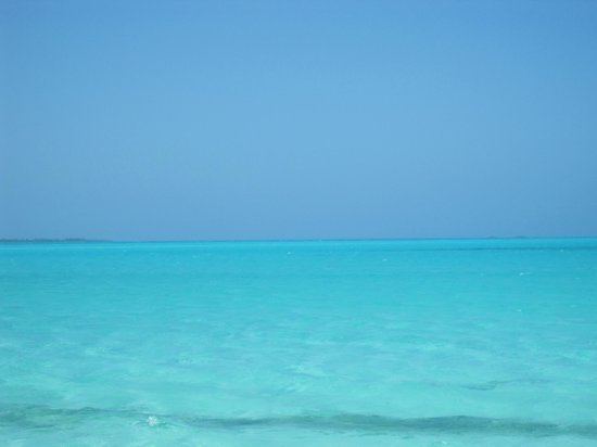 Green Turtle Cay: The beautiful turquoise Sea of Abaco
