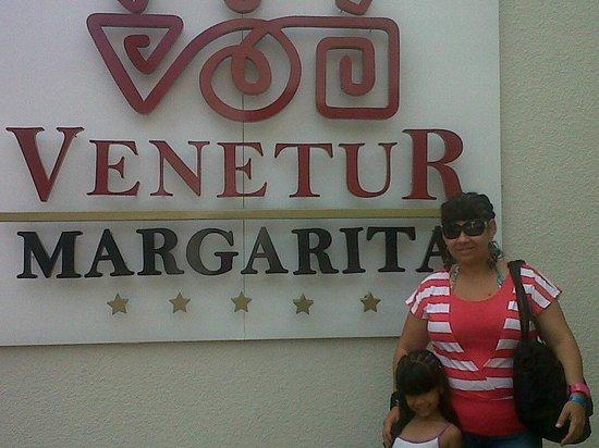 Hotel Venetur Margarita: entrada del hotel
