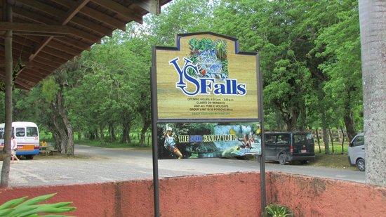 Lucea, Jamaica: YS Falls entrance