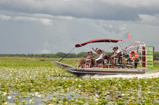 Marsh Landing Adventures - Orlando Airboat Tours