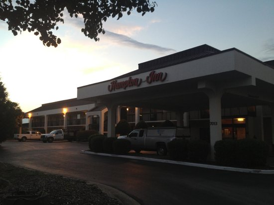Hampton Inn Chattanooga-Airport/I-75: Hotel Entrance