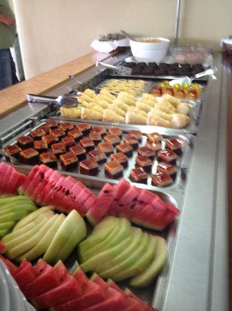 Solimar Aquamarine Hotel: puddings yummy