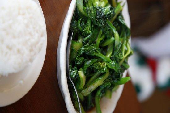 Cholada: Great vegetables