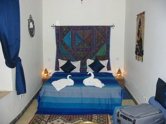 Riad Dar Othmane: Camera da letto