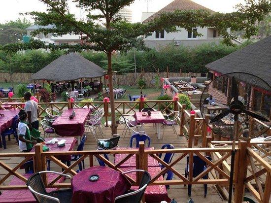 Secret Garden : the terrace