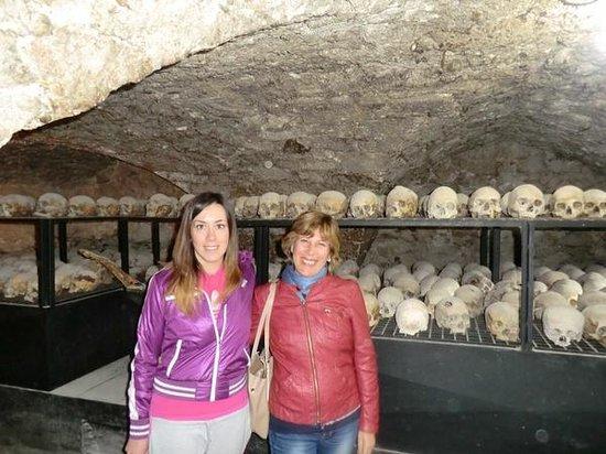 Chiesa di Santo Stefano - Mummie di Ferentillo - guida Alessia ;-)