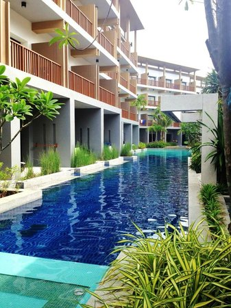 Deevana Plaza Krabi Aonang: Room with a pool