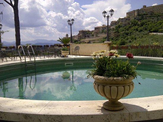 Villa Euchelia Resort: Pool view