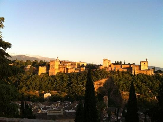 ¨ El Huerto de Juan Ranas ¨ #JUANRANAS : la vista della terrazza dove si pranza/cena!!