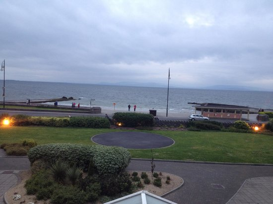Galway Bay Hotel: view from the sitting area