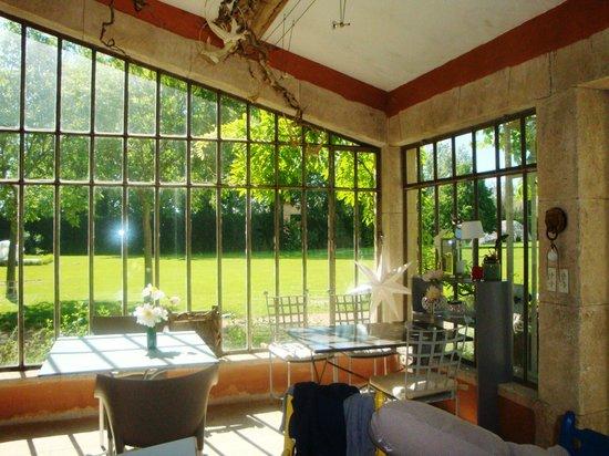 La Bastide Rose : Breakfast/Dining room
