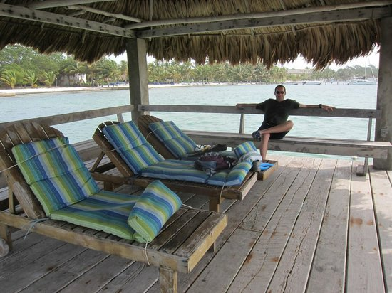 Xanadu Island Resort: Sitting at the dock