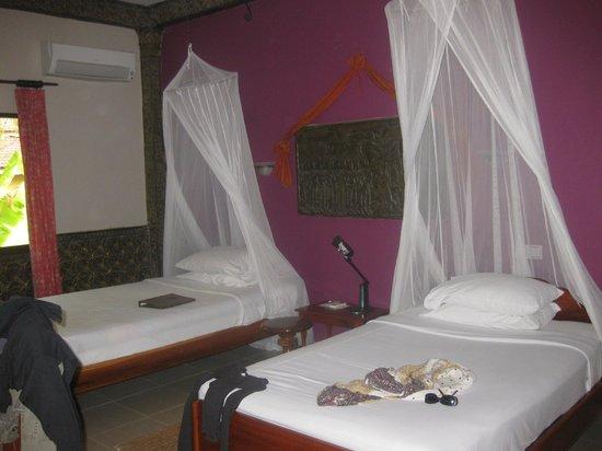 Bopha Siem Reap Boutique Hotel: Zimmer