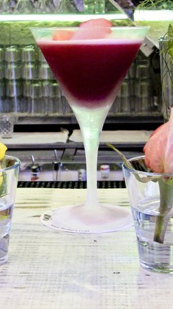 Ibo Ibiza: Beetroot & Rose Martini