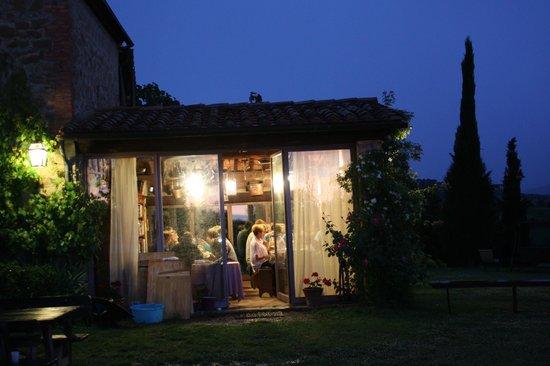 Casa Moricciani: Pasta Dinner at Farm