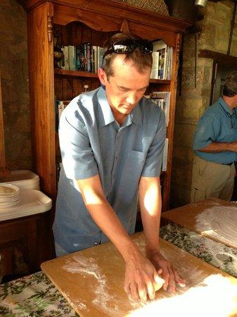 Casa Moricciani: Making Pici