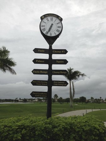 PGA National Resort & Spa: Directions to golf schools and courses.