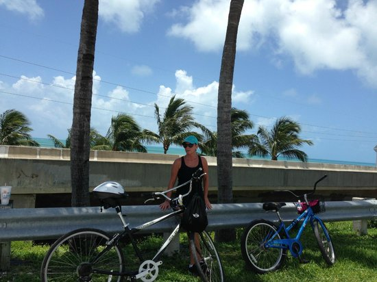 ‪‪Wheels-2-Go‬: Getting ready to ride across the Old Seven Mile Bridge‬