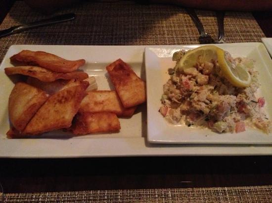 Sangre De Uva: crab and shrimp ceviche