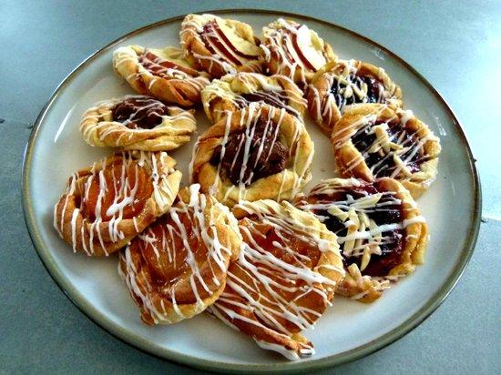 Wild Flour: fruit danishes!