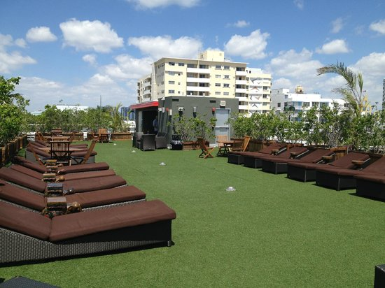 roof top picture of catalina hotel beach club miami. Black Bedroom Furniture Sets. Home Design Ideas
