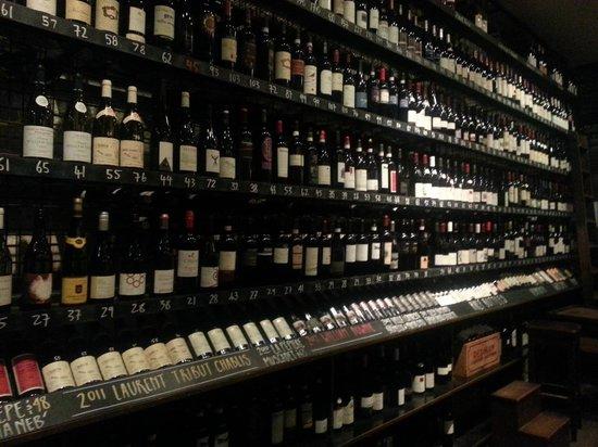 City Wine Shop: The wine list