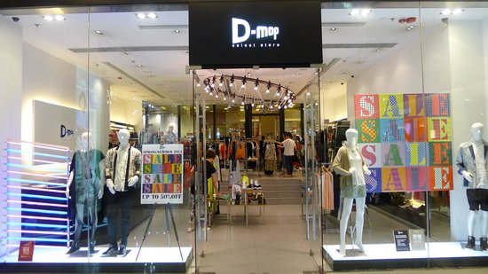 D-mop branch in Tsim Sha Tsui