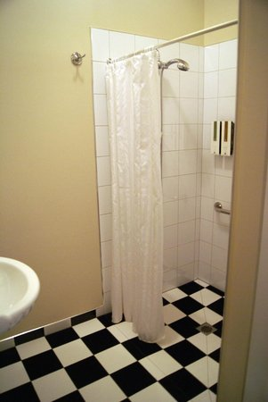 The Grange Guesthouse & Motel: shower