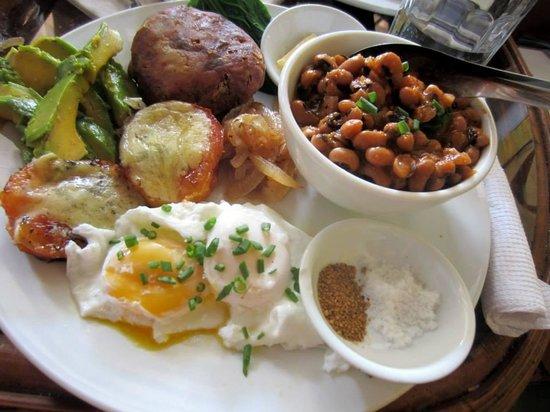 Cafe Espresso Kampot: Big Veg Breakfast