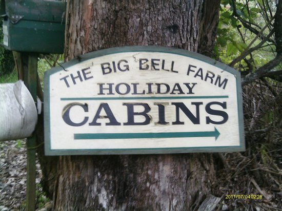 Big Bell Farm: You can't miss our roadsign