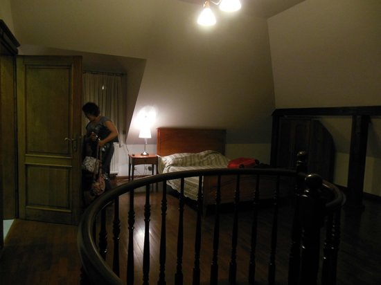 Sofia Bed & Breakfast: our room upstairs