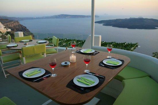 Character Italian Restaurant & Lounge Bar: Character_tableset