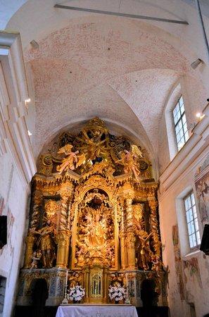 Iglesia de la Asunción: 教会の内部