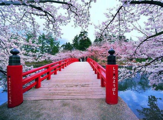 Χιροσάκι, Ιαπωνία: Hirosaki Park