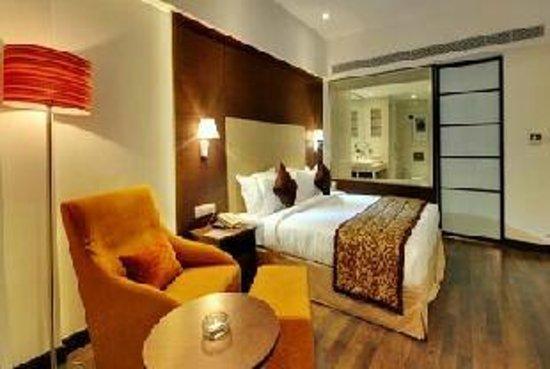 Rajkot, Inde : Rooms @ Platinum Hotel