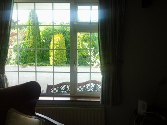 Lissarda B&B: view from the room