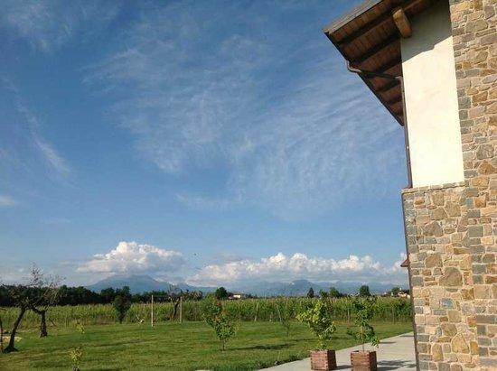 Massoni Bed & Breakfast: Aussicht nach Peschiera