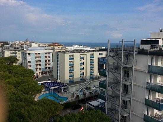 Hotel Luna: Aussicht 7 Stock