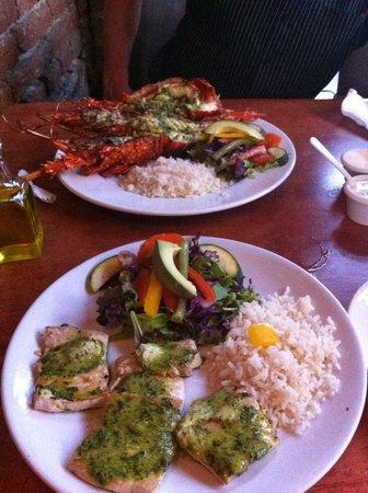 Fonda El Zaguan: Dinner the first night