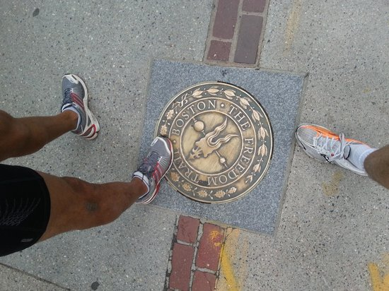 RunBoston Running Tours : Freedom Trail
