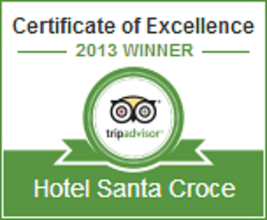 Hotel Santa Croce: Certificate of Excellence 2013