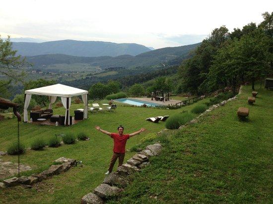 Tenuta Lonciano: garden