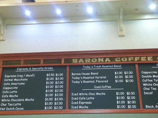 Barona Valley Ranch Resort & Casino: Barona Coffee Company