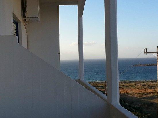 Alexis Hotel, Chania: Vue du balcon
