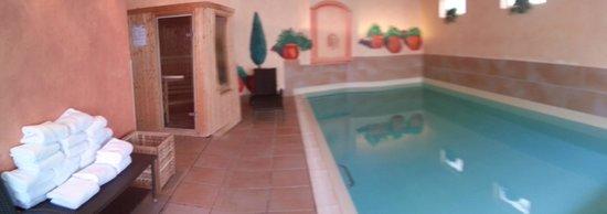 Hotel Bristol : Piscine (9h-22h) et sauna (après 17h)
