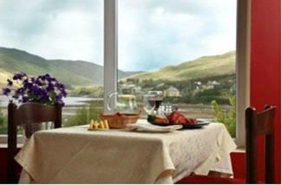 Portfinn Lodge: Window view