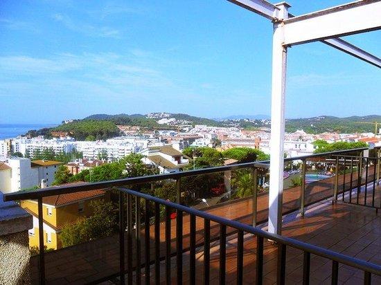 Hotel Samba : widok z 6 pietra na plaże